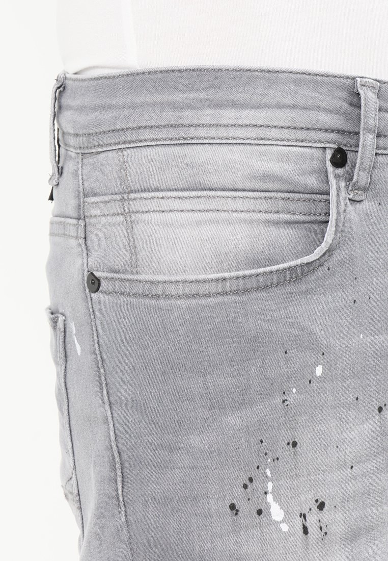 Cars Jeans CAVIN - Jeansy Slim Fit - grey used