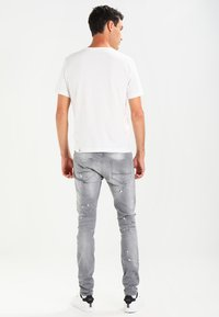 Cars Jeans - CAVIN - Slim fit jeans - grey used - 2
