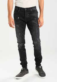 Cars Jeans - CAVIN - Jean slim - black used - 0