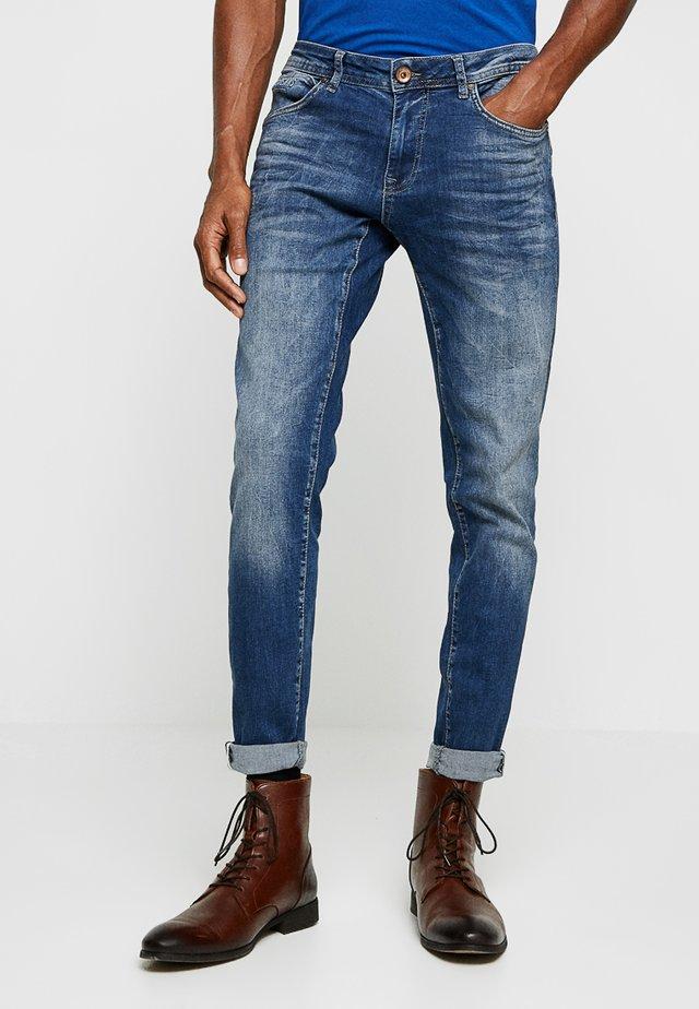 DAN - Zúžené džíny - blue