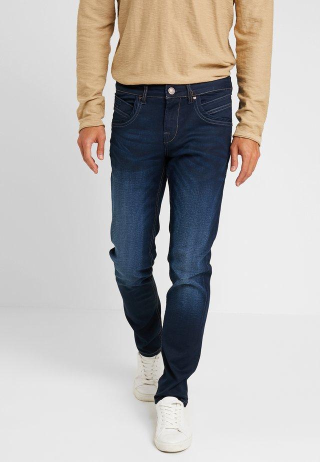 HENLOW - Jeans Straight Leg - dark blue