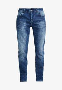Cars Jeans - THRONE - Džíny Slim Fit - dark used - 4