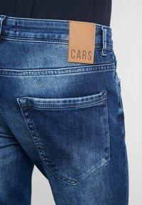 Cars Jeans - THRONE - Džíny Slim Fit - dark used - 5