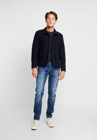 Cars Jeans - THRONE - Džíny Slim Fit - dark used - 1