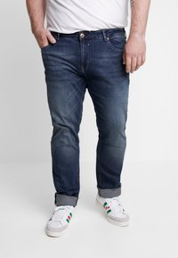 Cars Jeans - SHIELD PLUS - Jean slim - dark used - 0