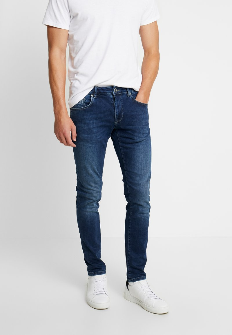 Cars Jeans - BATES - Slim fit jeans - dark used