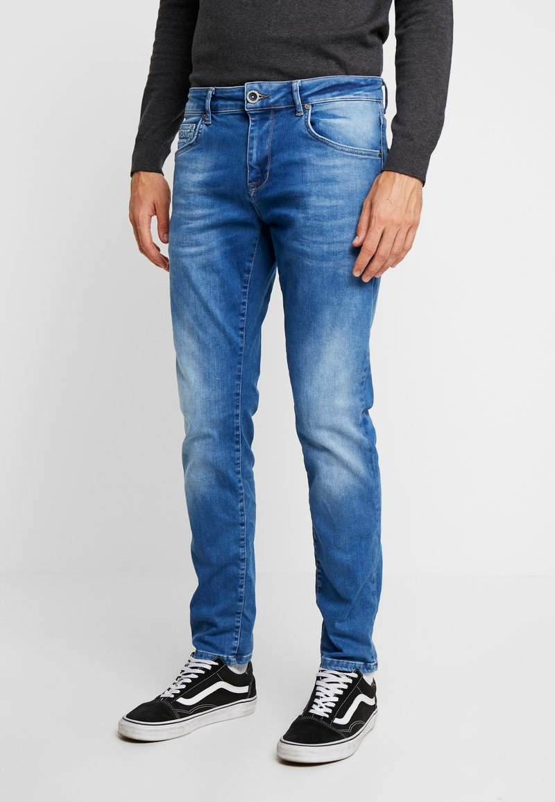 Cars Jeans - BATES - Slim fit jeans - blue used
