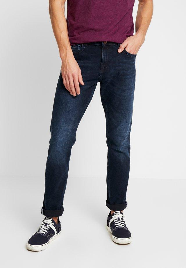 DOUGLAS - Džíny Straight Fit - blue black