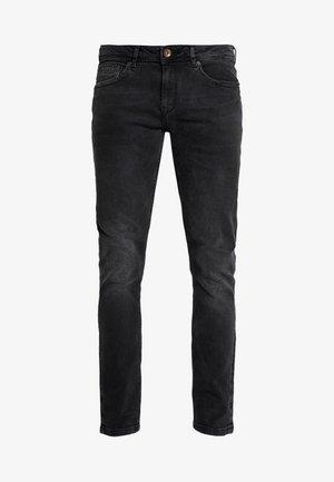 DOUGLAS - Straight leg jeans - black used