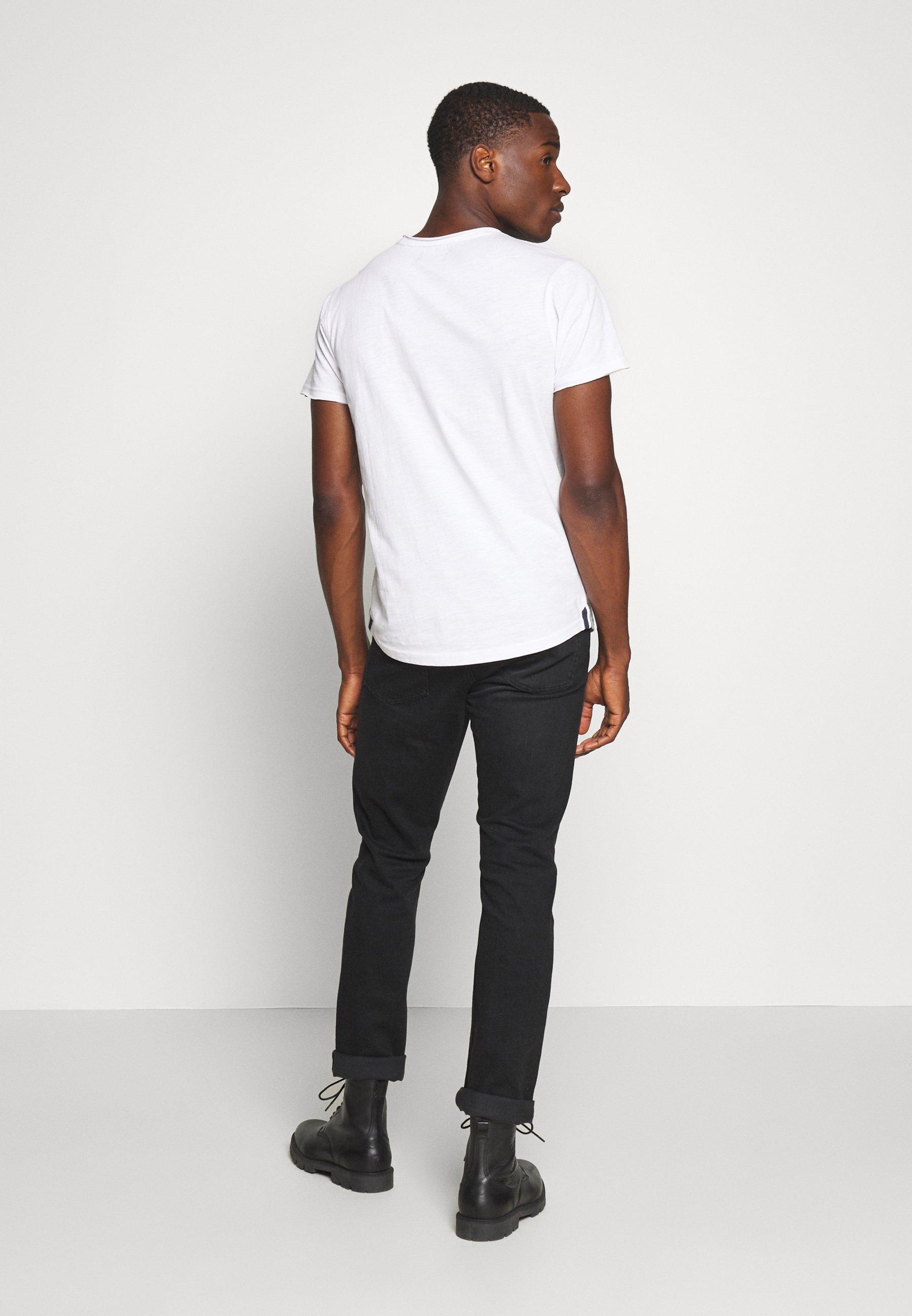 Cars Jeans SKYE - T-shirt basic - white