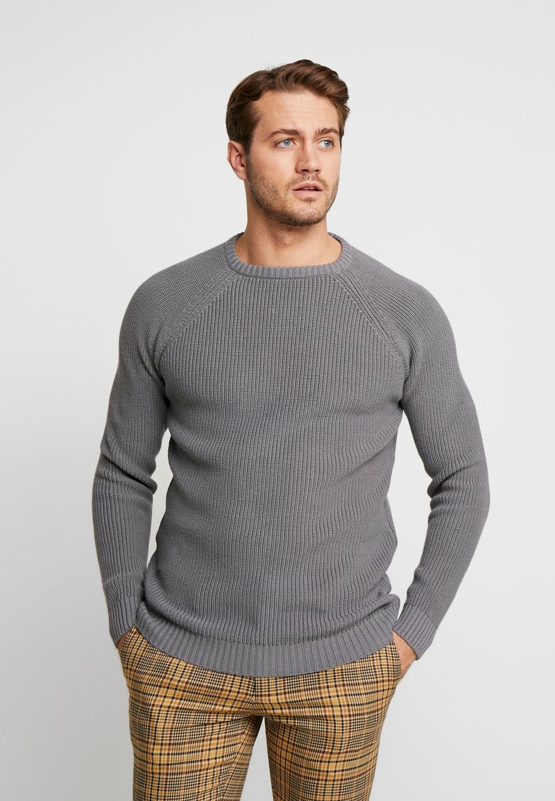Cars Jeans - PITCH - Strickpullover - grey