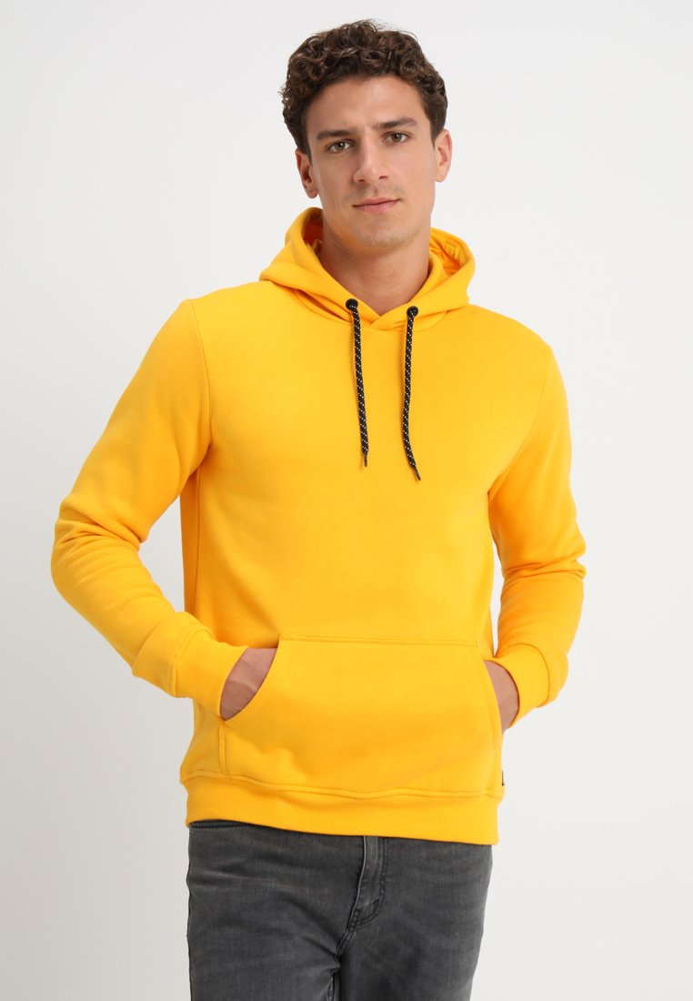 Cars Jeans - KIMAR - Jersey con capucha - ocre yellow