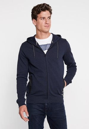 ISCAR - veste en sweat zippée - navy