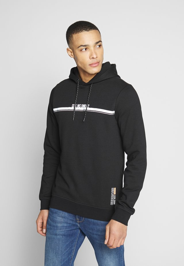 ASCOY HOODED - Jersey con capucha - black