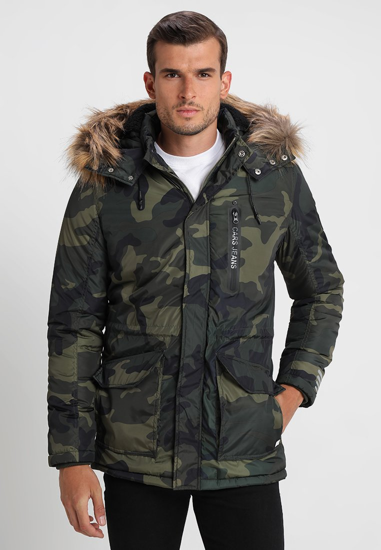 Cars Jeans - CHAMBERS - Parka - camouflage
