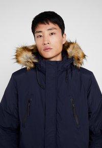 Cars Jeans - DEMSEY TASLON - Zimní kabát - navy - 9