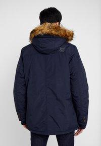 Cars Jeans - DEMSEY TASLON - Zimní kabát - navy - 2