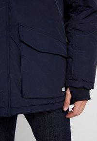 Cars Jeans - DEMSEY TASLON - Zimní kabát - navy - 5