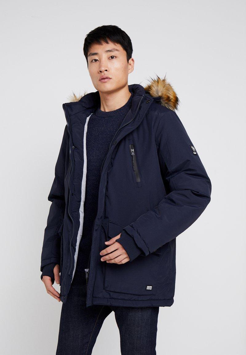 Cars Jeans - DEMSEY TASLON - Zimní kabát - navy