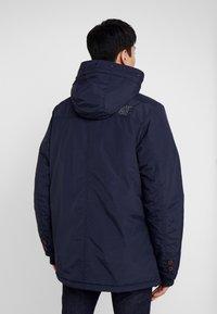 Cars Jeans - DEMSEY TASLON - Zimní kabát - navy - 3