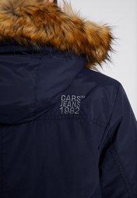 Cars Jeans - DEMSEY TASLON - Zimní kabát - navy - 7