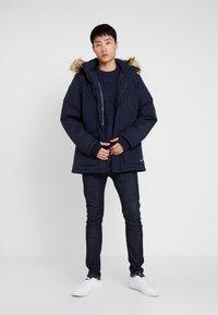 Cars Jeans - DEMSEY TASLON - Zimní kabát - navy - 1