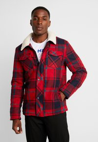 Cars Jeans - CHECK - Giacca invernale - red - 0