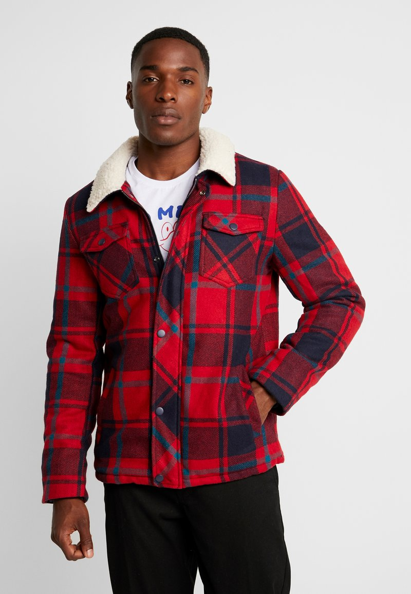 Cars Jeans - CHECK - Giacca invernale - red
