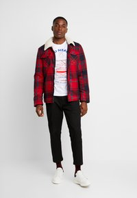 Cars Jeans - CHECK - Giacca invernale - red - 1