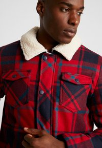 Cars Jeans - CHECK - Giacca invernale - red - 3