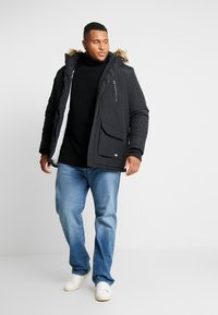 Cars Jeans - DEMSEY PLUS - Parka - black - 1