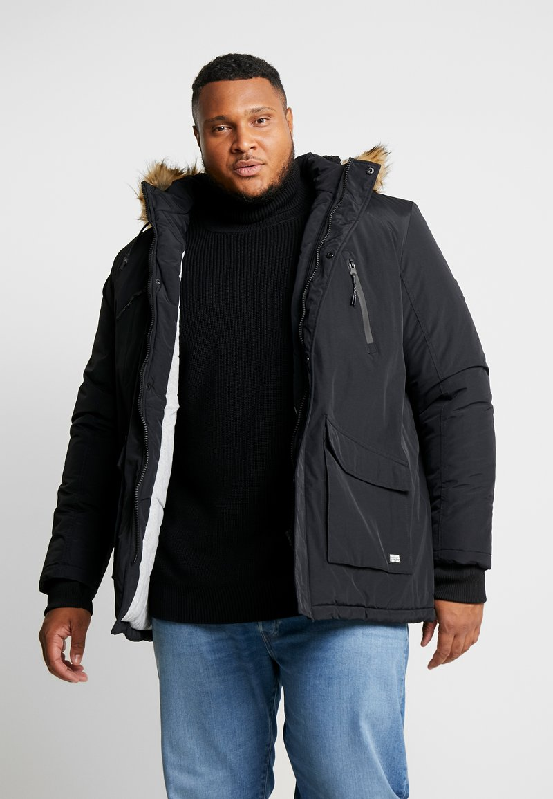 Cars Jeans - DEMSEY PLUS - Parka - black