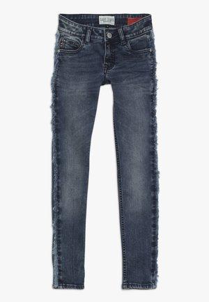 KIDS MARLE - Skinny džíny - darkblue denim