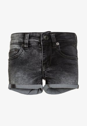APRIL  - Jeans Short / cowboy shorts - mid grey