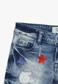 Cars Jeans - KIDS DINAH - Jeans Short / cowboy shorts - blue denim - 4
