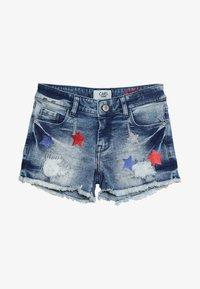 Cars Jeans - KIDS DINAH - Jeans Short / cowboy shorts - blue denim - 3