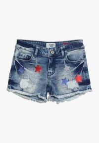 Cars Jeans - KIDS DINAH - Jeans Short / cowboy shorts - blue denim - 0