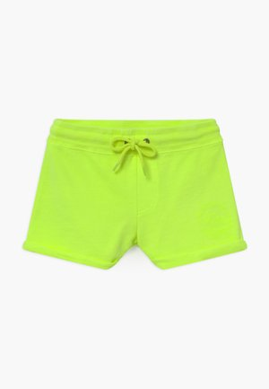 KIDS MILTY - Tracksuit bottoms - neon yellow