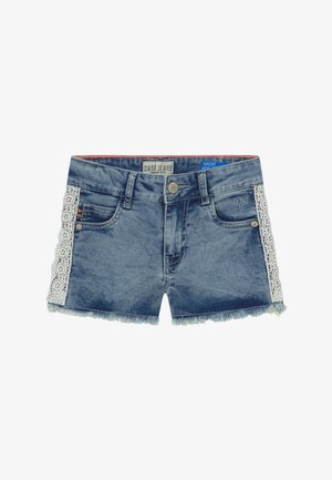KIDS DITA - Short en jean - light blue denim