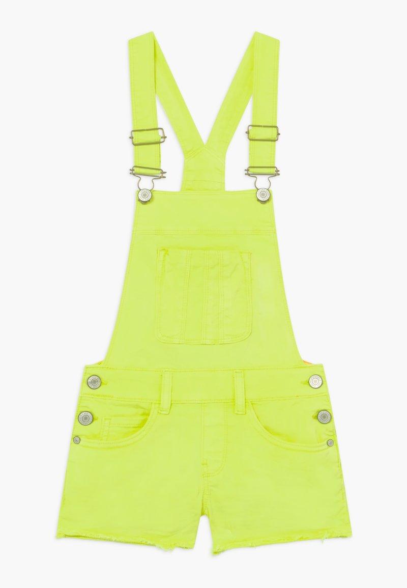 Cars Jeans - KIDS JARA - Denim shorts - yellow
