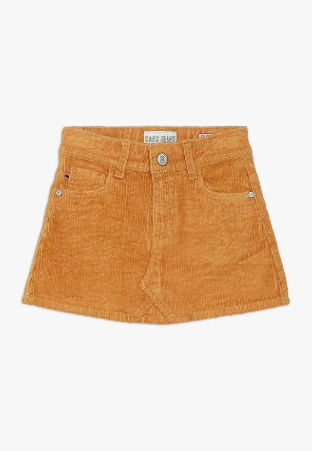 KIDS SKIRT - Mini skirt - ocre
