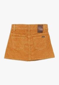 Cars Jeans - KIDS SKIRT - Mini skirt - ocre - 1