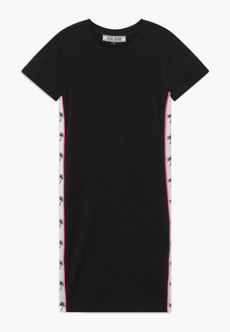 Cars Jeans - LOUANN DRESS - Žerzejové šaty - black