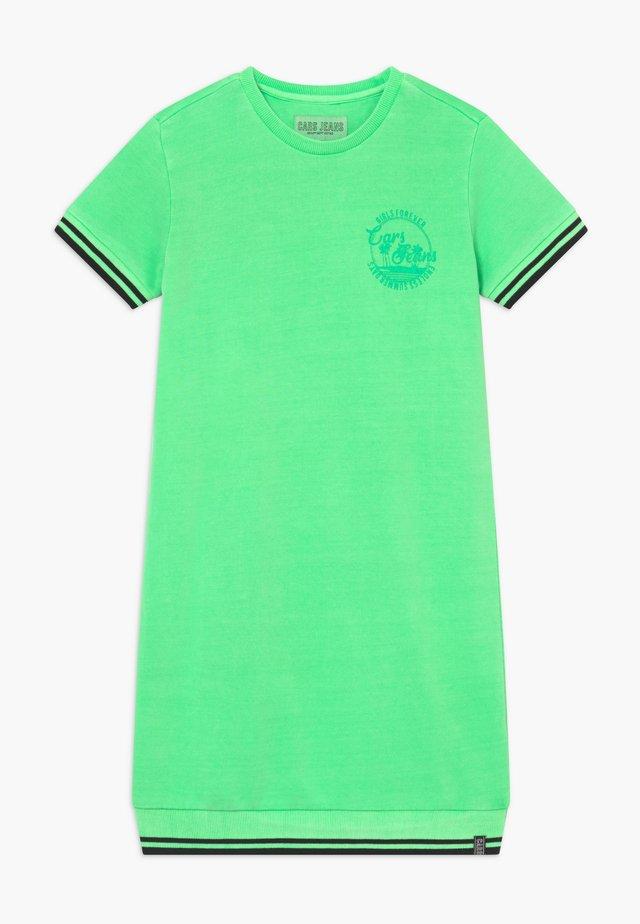KIDS PRAISLEY DRESS - Day dress - neon green