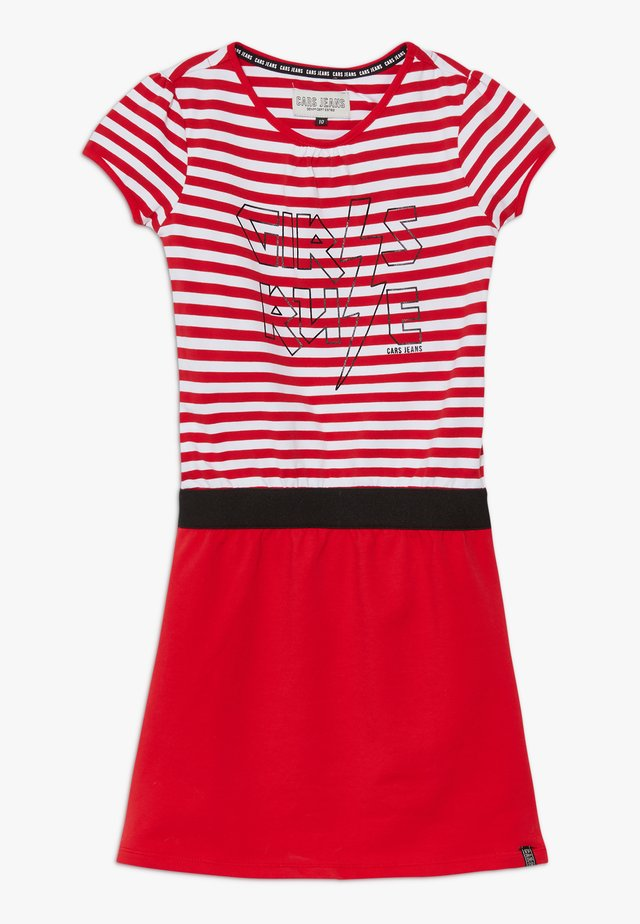 KIDS SAMAI DRESS - Žerzejové šaty - red