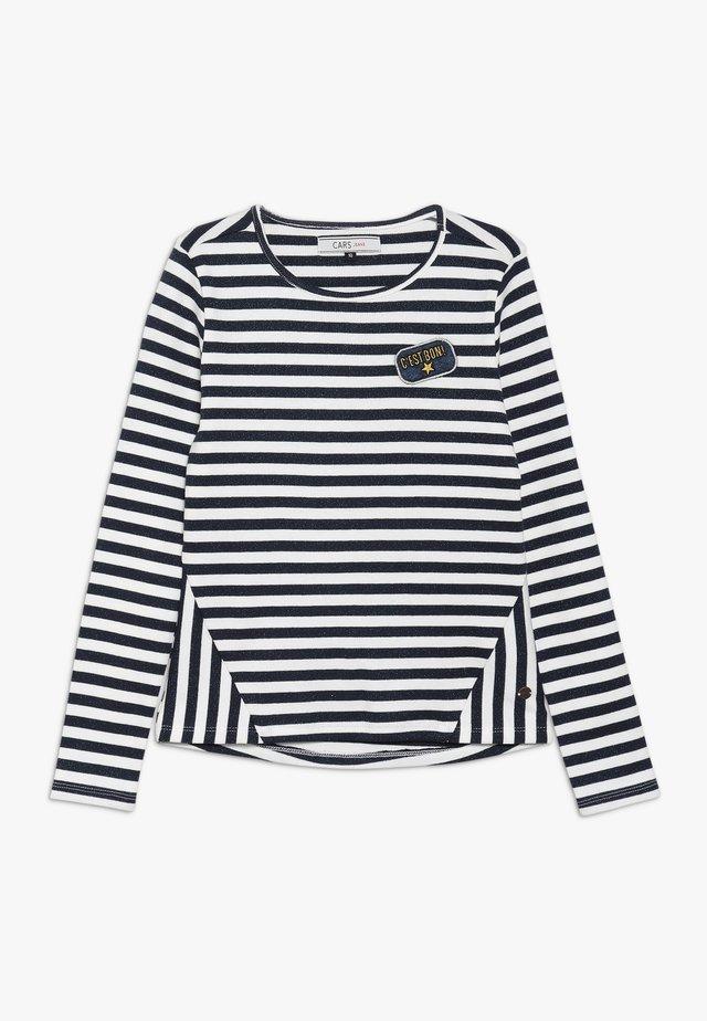 KIDS FRONA STRIPE - Langarmshirt - navy