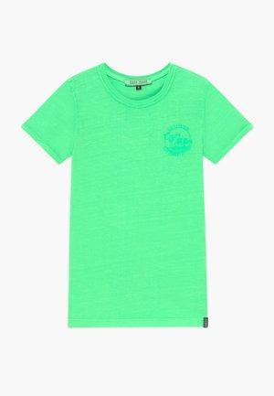 KIDS IRVY - Triko spotiskem - neon green