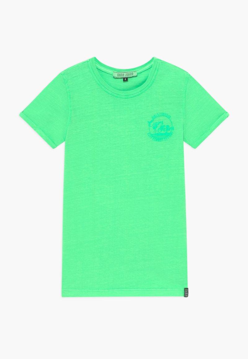 Cars Jeans - KIDS IRVY - Triko spotiskem - neon green