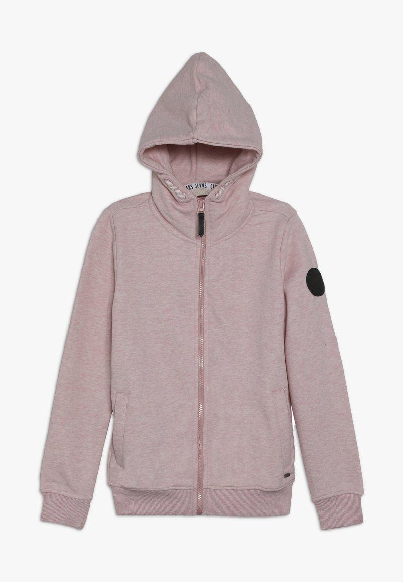 Cars Jeans - KIDS MALINE - Zip-up hoodie - soft pink
