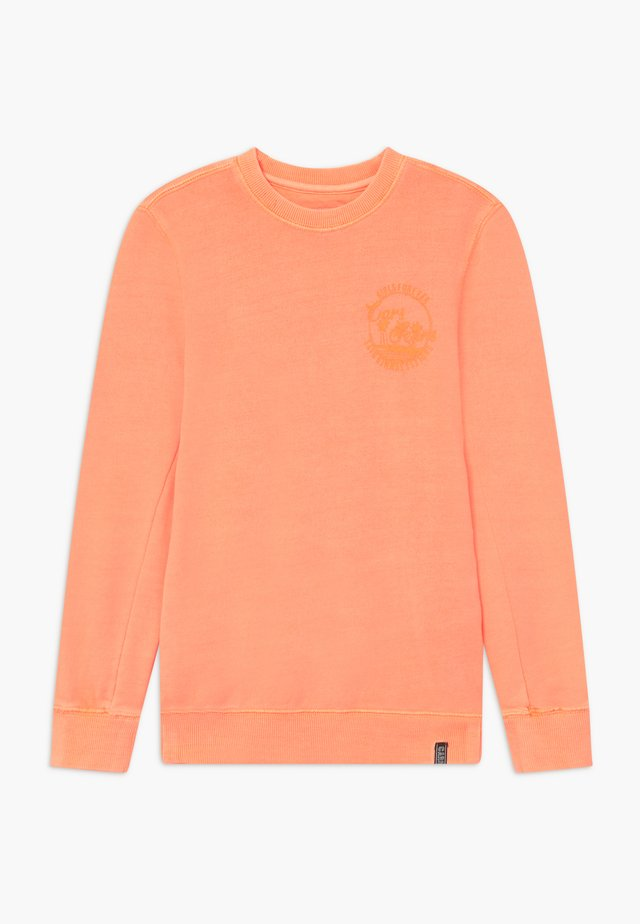 KIDS CALDY - Sweater - fluor coral